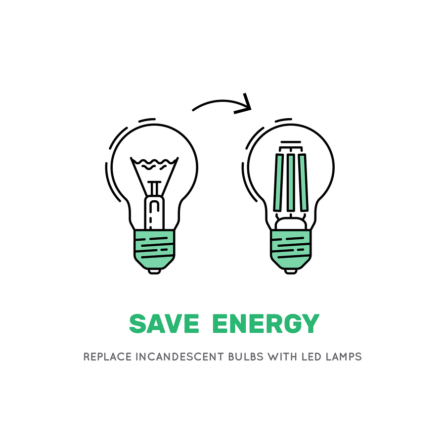 Spara energi med LED