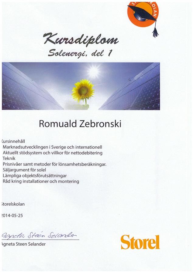 Solenergi kurs